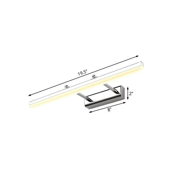 """Acrylic Ultra-Thin Wall Sconce Contemporary Style 16""""/19.5 ... on Ultra Modern Wall Sconces id=86079"""