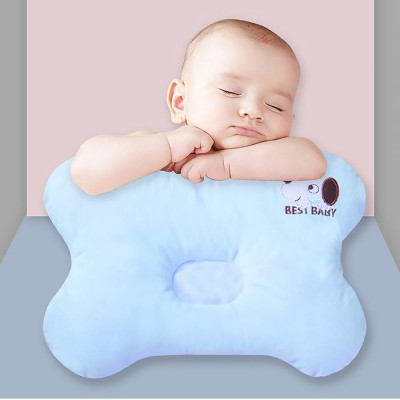baby pillow four seasons crystal velvet infant cushion sleeping support infant pillow for 0 to 1 year newborns prevent flat head pillow