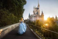 Cinderella at her castle