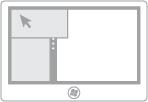 Ilustração da alternância de aplicativos