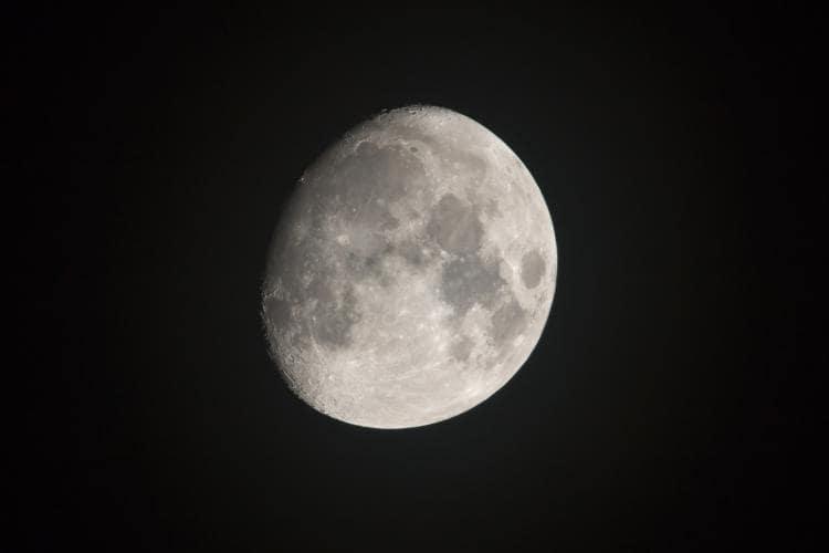 Fase Bulan Cembung Awal Waxing Gibbous