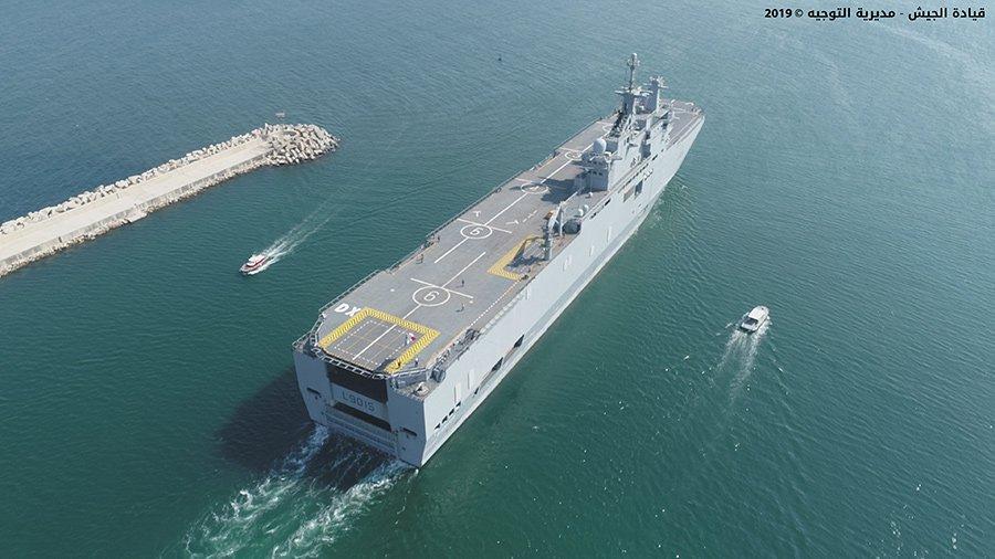 مناورات عسكرية بحرية لبنانية فرنسية
