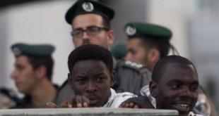 احتجاجات المستوطنين الفلاشا في فلسطين المحتلة