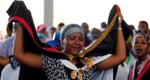 مستوطنون أثيوبيون في فلسطين المحتلة