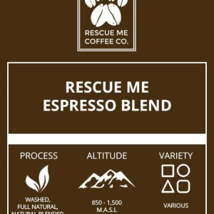 Espresso Coffee - Rescue Me Coffee