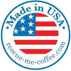 Made in the USA Coffee Mug – Rescue Me Coffee