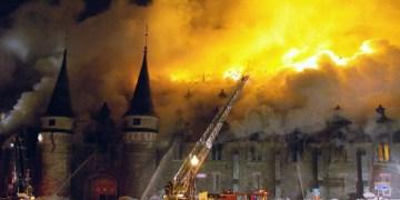 incendie manège militaire au Québec