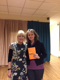 RoS' Madeleine Holt with Diane Reay