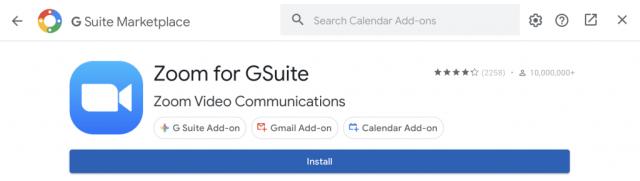 Add Zoom to Google Calendar