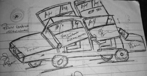 mECHsCINOVATE Car Design.