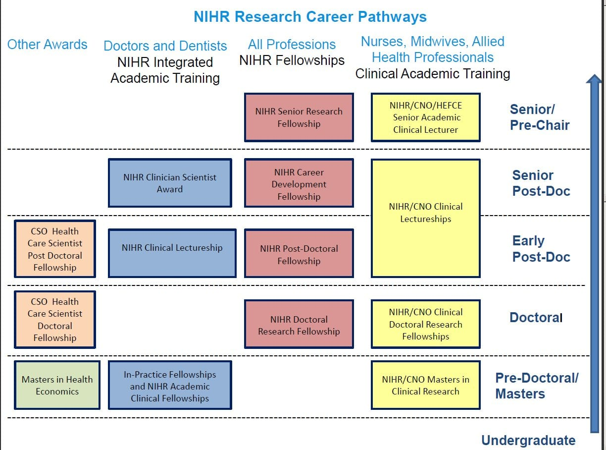 Image result for NIHR FELLOWSHIP success rates