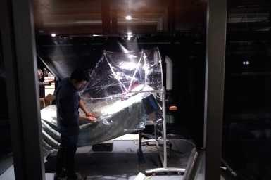 Testing of Aerosol hood