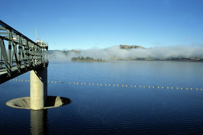 Chaffey Dam, Tamworth NSW. Photographer : Brad Sherman on January 01 1996.