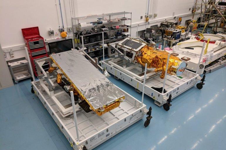 NovaSAR-1 and SSTL S1-4 Flight Cases SSTL