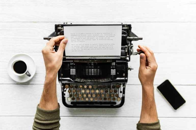 Typewriter article