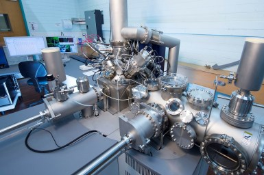 large complex instrument in lab