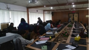 Training workshop at the Bangladesh Agricultural University, Mymensingh