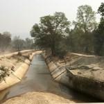 An irrigation canal