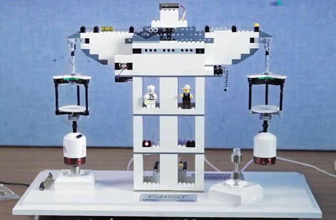 Table Top Lego Watt Balance from NIST