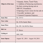 S P Apparels IPO – Issue opens from 02 August