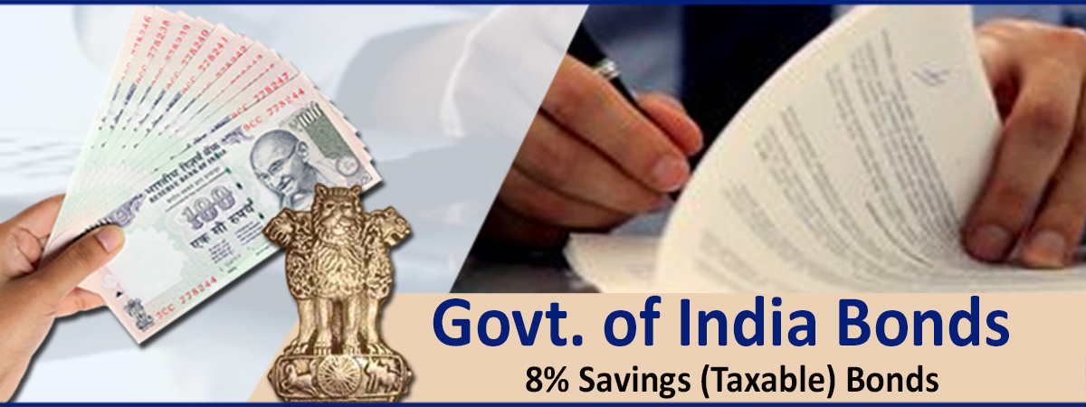 Government of india taxable bond