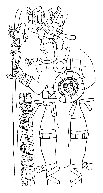 Il Misterioso Guerriero Maya Con Fucile Mitragliatore
