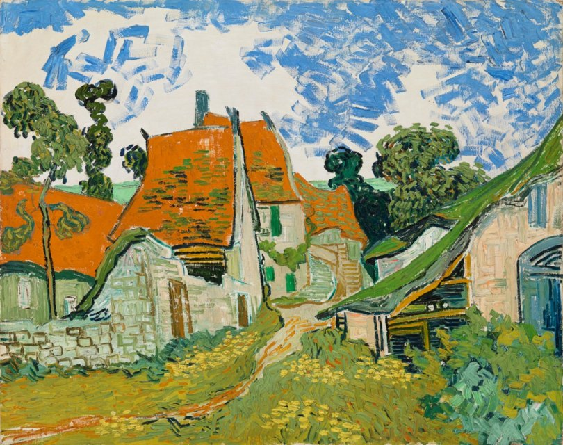 Vincent van Gogh: Street in Auvers-sur-Oise. Photograph: Kansallisgalleria / Eweis, Yehia
