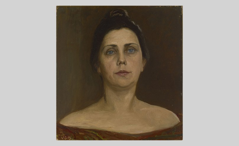 Venny Soldan-Brofeldt, Portrait of Sigrid af Forselles, 1902, oil on hardboard, 37cm x 35cm, Finnish National Gallery / Ateneum Art Museum Photo: Finnish National Gallery / Hannu Aaltonen