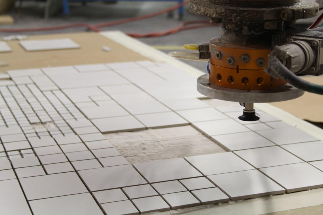 Robotic Tile Placement
