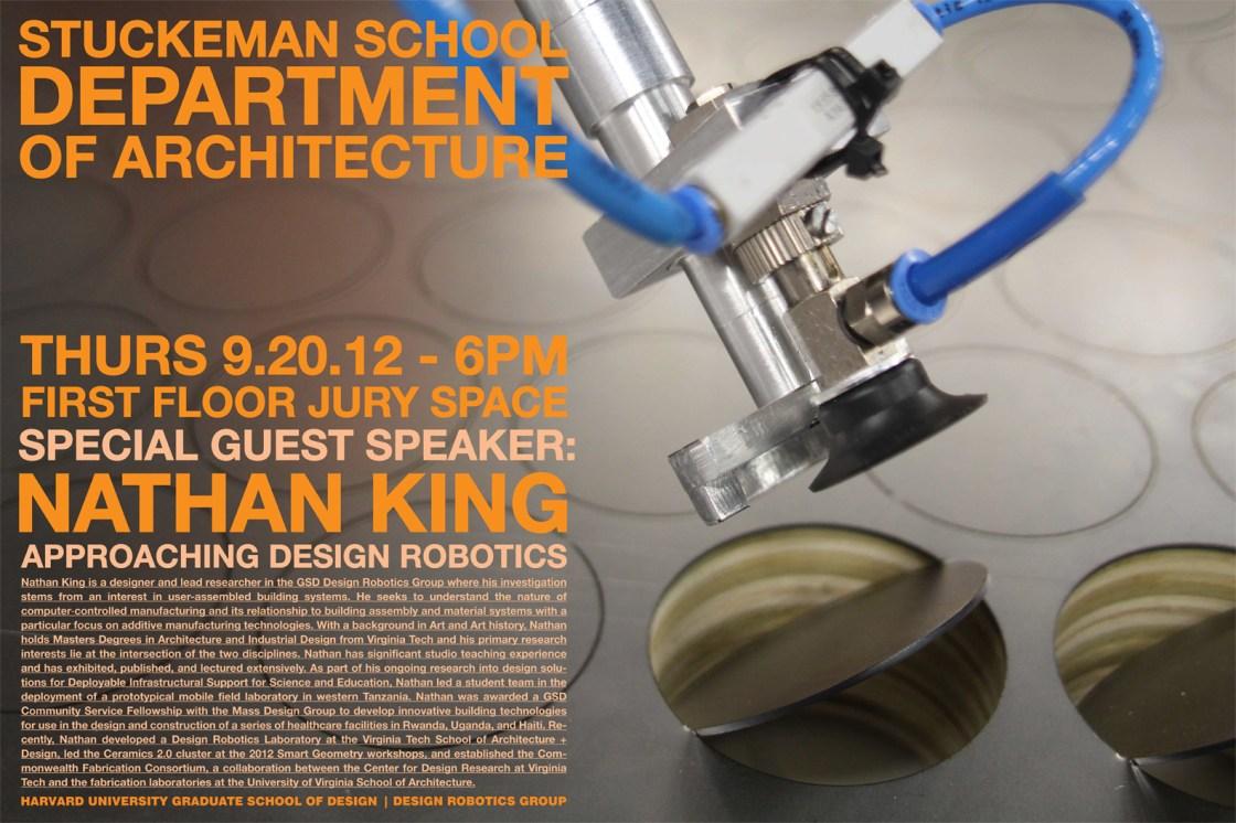 Nathan King to speak at Penn State