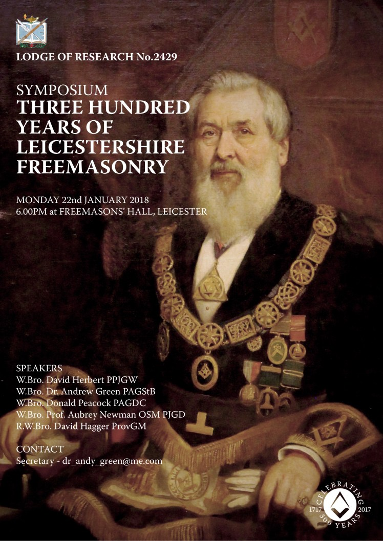 Lodge of Research Symposium - January 2018