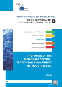 The Future of the Almadraba Sector – Traditional Tuna Fishing Methods in the EU