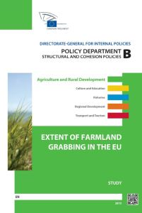 Extent of Farmland Grabbing in the EU