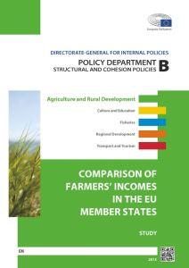Comparison of Farmers' Incomes in the EU Member States