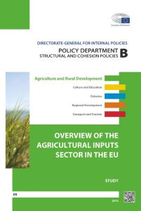 Overview of the Agricultural Inputs Sector in the EU
