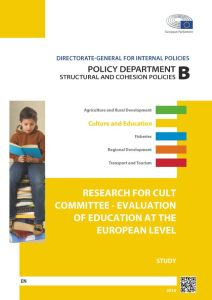 Evaluation of Education at the European Level