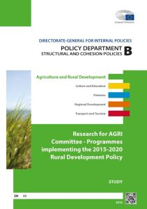 Programmes Implementing the 2015-2020 Rural Development Policy