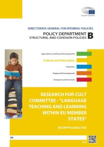 Language Teaching and Learning within EU Member States
