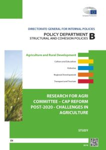CAP Reform Post-2020 - Challenges in Agriculture