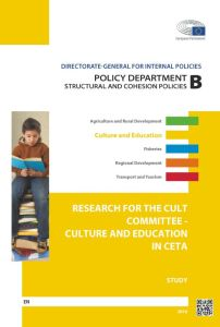 Culture and Education in the CETA