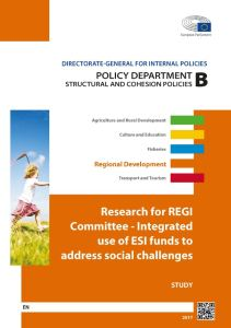 Integrated use of ESI funds to address social challenges