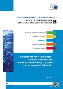 Marine recreational and semi-subsistence fishing - its value and its impact on fish stocks