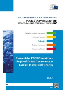 Regional ocean governance in Europe: the role of fisheries