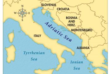 Map 1: Adriatic Sea