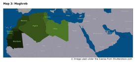 Map 3: Maghreb