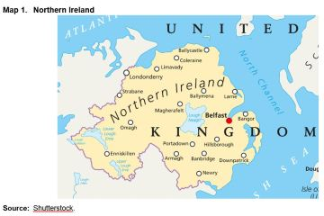 Map 1. Northern Ireland