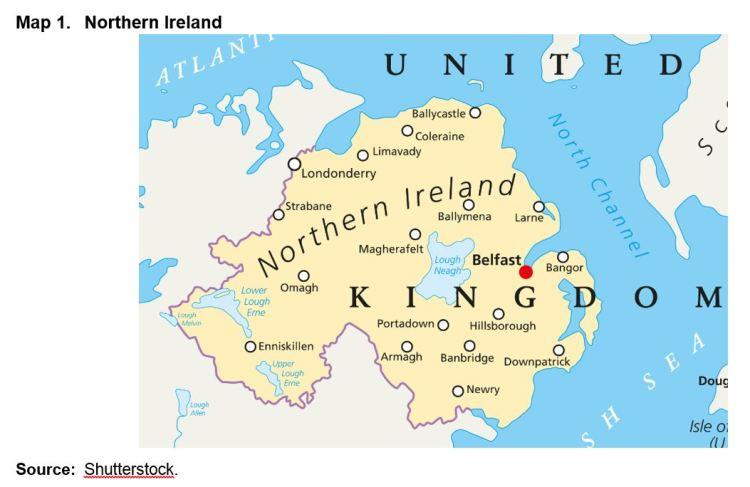 Map 1. Northern Ireland
