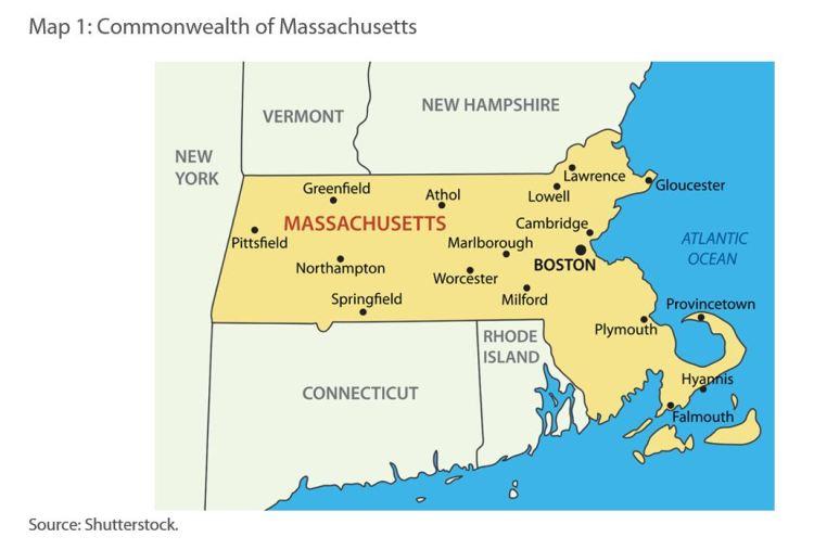 Map 1: Commonwealth of Massachusetts