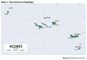 Map 1: The Azores archipelago