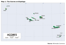 Map 1: The Azores archipelago